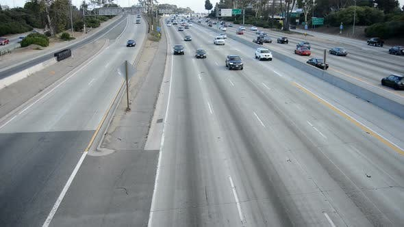 Thumbnail for Traffic On Busy Freeway In Los Angeles 2