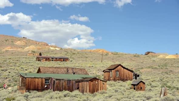 Thumbnail for Bodie California - Abandon Mining Ghost Town - Daytime - 1
