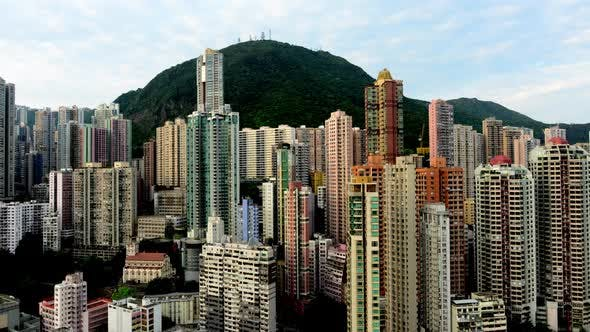 Thumbnail for Sunrise Over Hong Kong Skyline And Victoria Peak - Hong Kong China 1