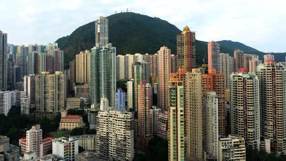 Thumbnail for Sunrise Over Hong Kong Skyline And Victoria Peak - Hong Kong China 2