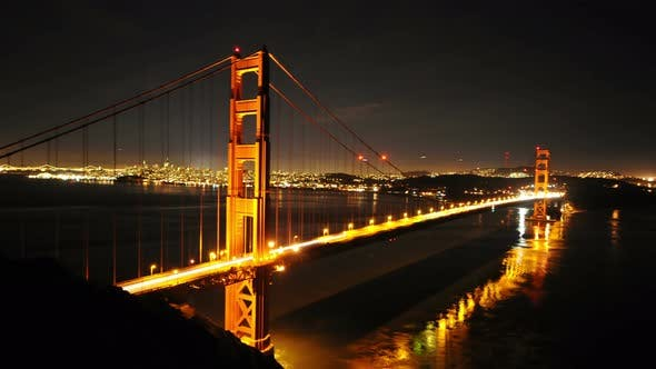 Cover Image for Golden Gate Bridge At Night