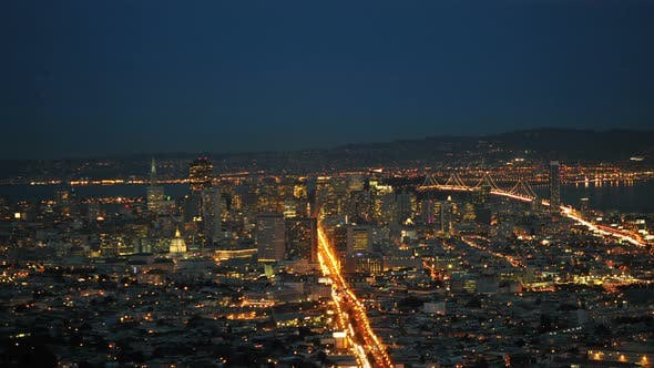 Thumbnail for San Francisco In The Evening - 1