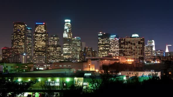 Thumbnail for Downtown Los Angeles At Night