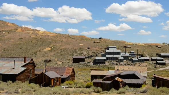 Cover Image for Bodie California - Abandon Mining Ghost Town - Daytime 19