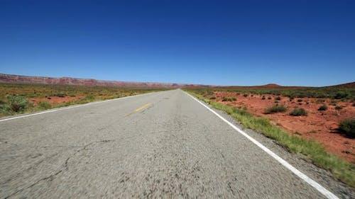 Driving In Navajo Nation