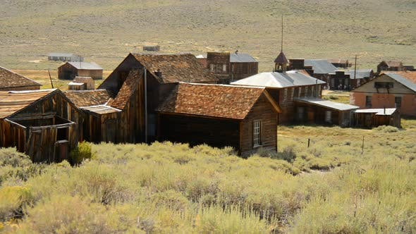 Bodie California - Abandon Mining Ghost Town - Daytime 29