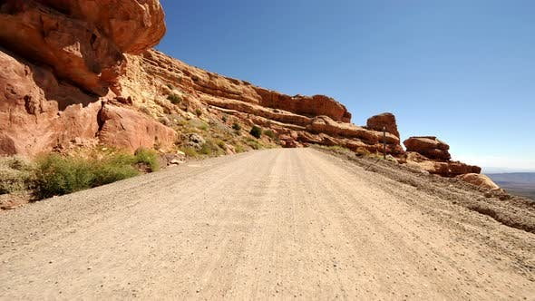 Thumbnail for Driving In Navajo Nation - Time Lapse   - 3