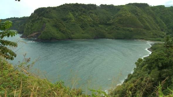 Tropical Hawaiian Bay 1