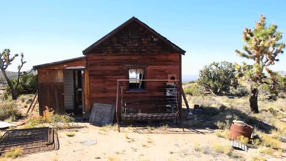 Thumbnail for Old Abandon Home In The Mojave Desert 3