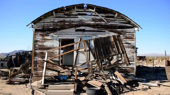Thumbnail for Old Abandon Home In The Mojave Desert 6