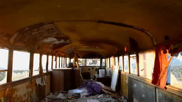 Thumbnail for Abandon Bus In The Desert At Sunset 4