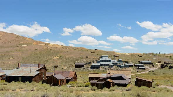 Thumbnail for Bodie California - Abandon Mining Ghost Town - Time Lapse - Daytime 3