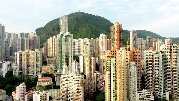Thumbnail for Sunrise Of Hong Kong Skyline And Victoria Peak - Hong Kong China