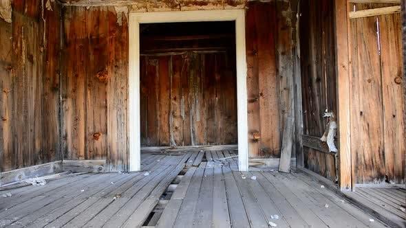 Bodie California - Abandon Mining Ghost Town Interior - Daytime 9