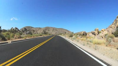 Driving In The Mojave