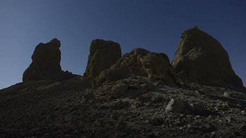 Trona Pinnacles At Night 2