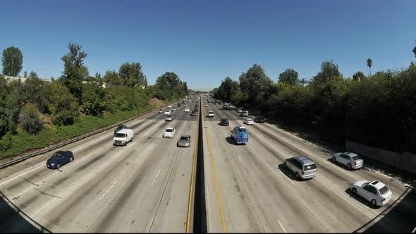 Urban Freeway Traffic - Clip 3