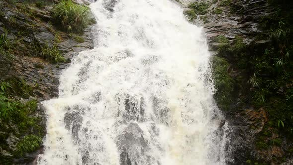 Cover Image for Raging Waterfall During Rainstorm - Sapa Vietnam 4