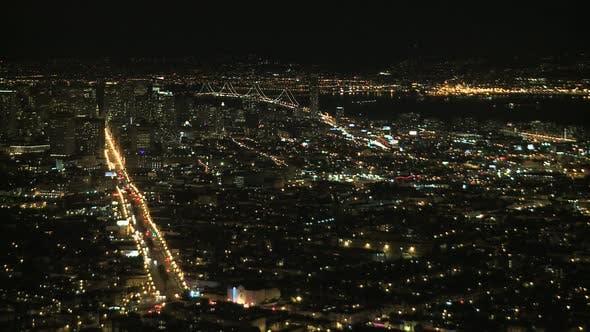 Thumbnail for Night View Of San Francisco Bay - Clip 4