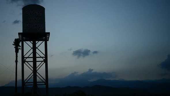 Thumbnail for Water Tower At Sunset
