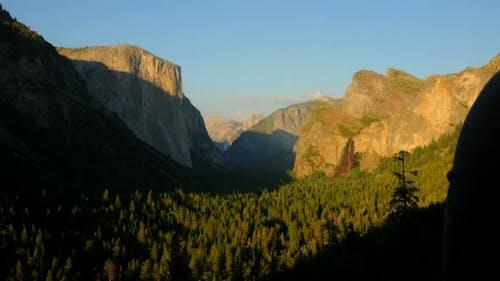 Yosemite Nationalpark bei Sonnenuntergang