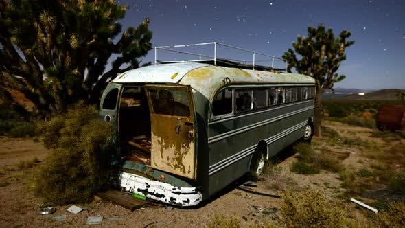Thumbnail for Abandon Bus At Night In The Desert