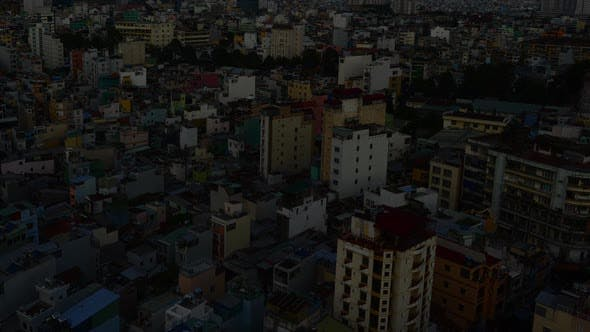 Thumbnail for Shadows Sweeping Across Rooftops In Ho Chi Minh City Vietnam 4
