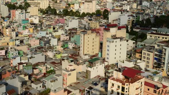Thumbnail for Shadows Sweeping Across Rooftops In Ho Chi Minh City Vietnam 5