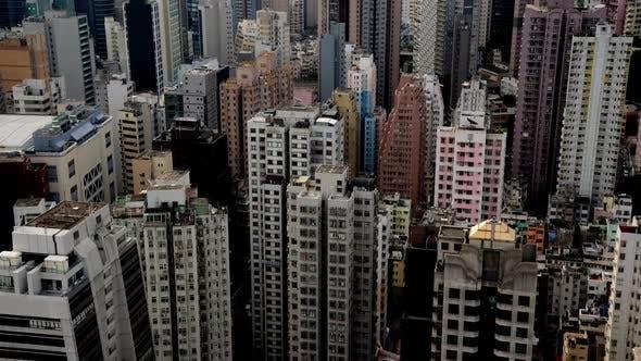Thumbnail for Hong Kong Busy Skyline - Hong Kong China