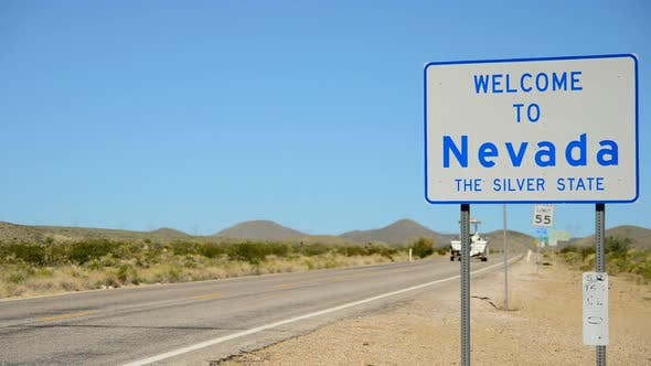 Thumbnail for California Nevada State Border 1