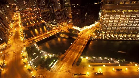 Cover Image for Overhead View Of Downtown Chicago 1