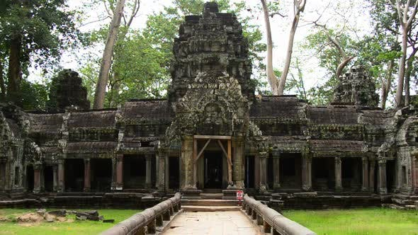 Thumbnail for Ancient Temple Entrance  - Angkor Wat Temple Complex, Cambodia