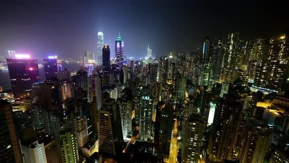 Hong Kong Skyline And Victoria Harbour At Night - Hong Kong China 6