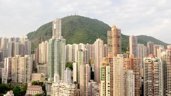 Thumbnail for Hong Kong Skyline And Victoria Peak - Hong Kong China 1