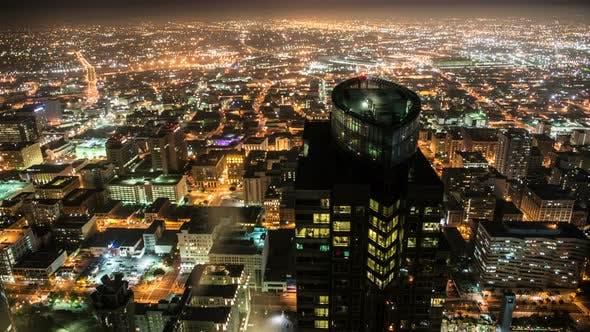Thumbnail for Overview Of Los Angeles At Night - 2