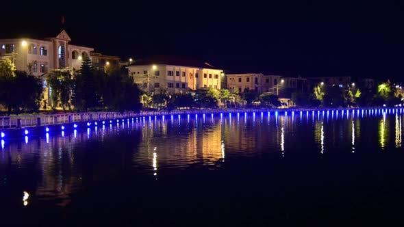 Thumbnail for Sleepy Mountain Village At Night - Sapa Vietnam 4