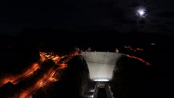 Thumbnail for Hoover Dam At Night