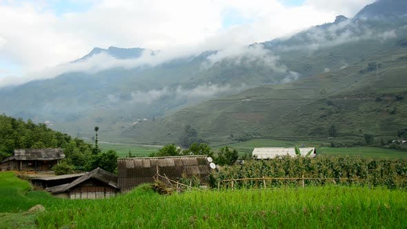 Thumbnail for Farm House With Rice Terraces In Valley -  Sapa Vietnam 5