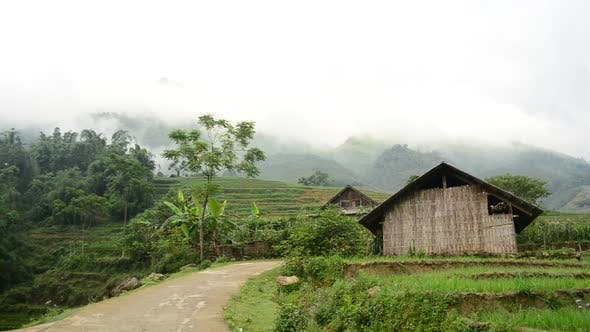 Thumbnail for Farm House With Rice Terraces In Valley -  Sapa Vietnam 6
