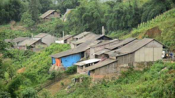 Farm House With Rice Terraces In Valley -  Sapa Vietnam 8