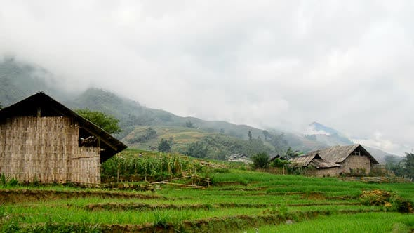 Thumbnail for Farm House With Rice Terraces In Valley -  Sapa Vietnam 9