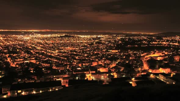 Thumbnail for Stadt San Francisco bei Nacht Von Twin Peaks - Clip 2