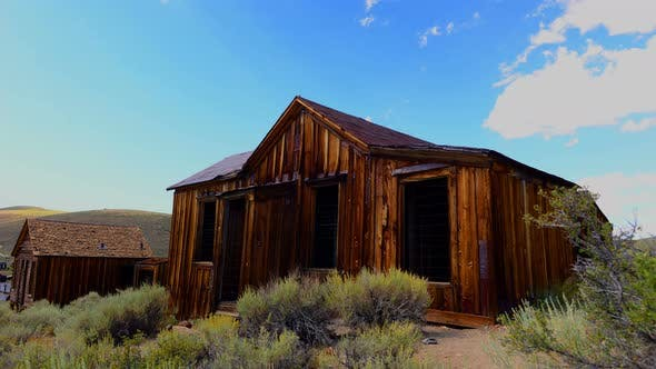 Thumbnail for Time Lapse Of Bodie California - Abandon Mining Ghost Town - Daytime - 4k 2