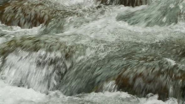 Thumbnail for Slow Motion Water, Stream, Brook - Clip 1