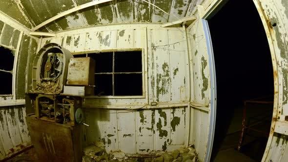 Thumbnail for Time Lapse Pan Of Abandon Mine At Night - 4k 8