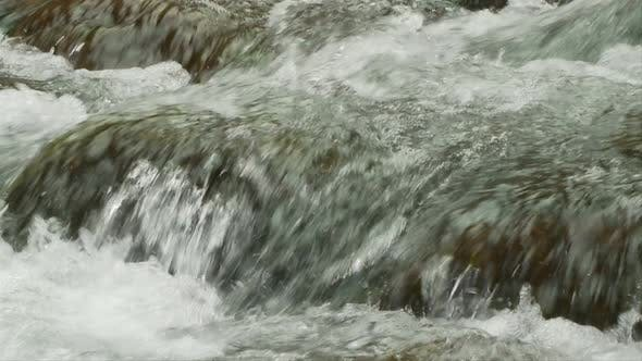 Thumbnail for Slow Motion Water, Stream, Brook - Clip 5