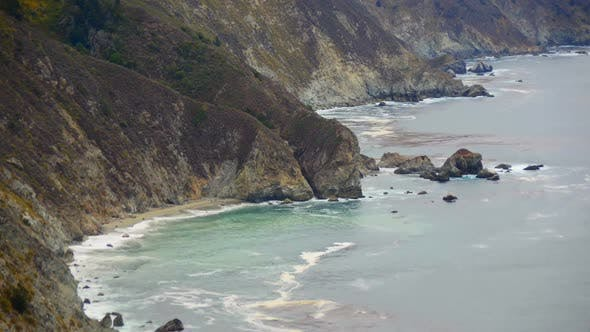 Thumbnail for Time Lapse Of The Big Sur California Coastline 2