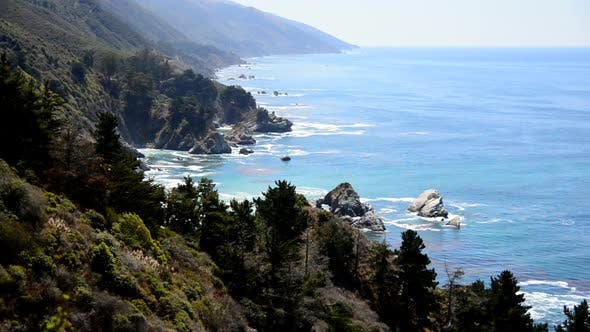 Thumbnail for Time Lapse Of The Big Sur California Coastline 4