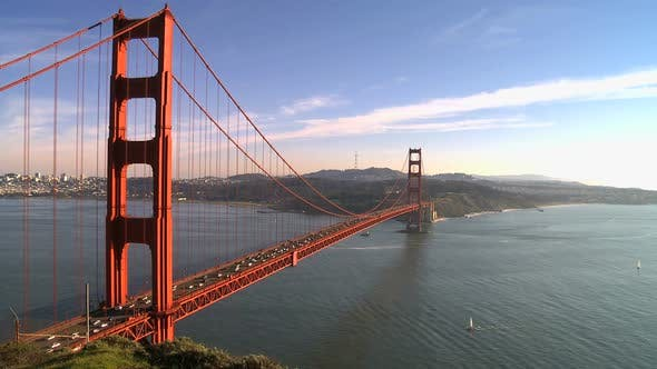Thumbnail for Time Lapse Of The Golden Gate Bridge San Francisco