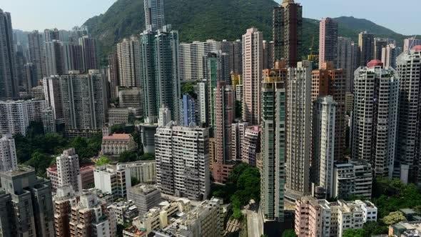Thumbnail for Time Lapse Pan Of Hong Kong Skyline And Victoria Peak - Hong Kong China 3